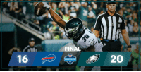 Memes, 🤖, and Philly: FINAL  PRESEASON An interception seals it and we're FINAL in Philly!  #BUFvsPHI https://t.co/5AOu65j8BY