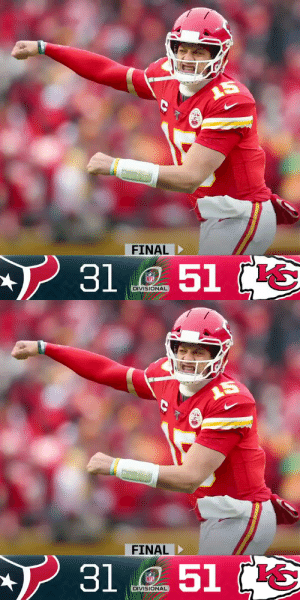 FINAL: The @Chiefs are heading to their second consecutive AFC Championship! #NFLPlayoffs #HOUvsKC  (by @Lexus) https://t.co/a3YmE4FPXW: FINAL: The @Chiefs are heading to their second consecutive AFC Championship! #NFLPlayoffs #HOUvsKC  (by @Lexus) https://t.co/a3YmE4FPXW