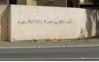 Vandalism nowadays. Final Fantasy XV http://9gag.com/gag/aLMGqyg?ref=fbpic: FINAL  THE Vandalism nowadays. Final Fantasy XV http://9gag.com/gag/aLMGqyg?ref=fbpic