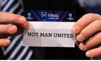 Ready for the Champions League draw https://t.co/58mmAD0yya: FINAL  WEMBLEY 2013  NOT MAN UNITED Ready for the Champions League draw https://t.co/58mmAD0yya