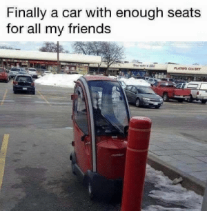 Friends, Car, and All: Finally a car with enough seats  for all my friends