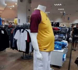 Finally a mannequin that represents real people like us in society: Finally a mannequin that represents real people like us in society