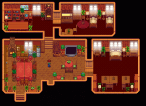 Finally finished my home design! Who should I get married to keep the integrity of my house? I already kicked out Krobus for this...: Finally finished my home design! Who should I get married to keep the integrity of my house? I already kicked out Krobus for this...