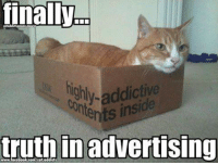 finally  Highly inside  truth in advertising The perfect box!