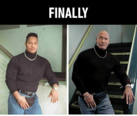Trained so hard that he got bald. Follow @9gag - - - 9gag therock dwaynejohnson fannypack highschoolyearbook saitama onepunchman: FINALLY Trained so hard that he got bald. Follow @9gag - - - 9gag therock dwaynejohnson fannypack highschoolyearbook saitama onepunchman