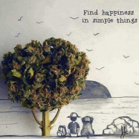 Weed, Marijuana, and Happiness: Find happiness  in simple things All I need right here 🐶