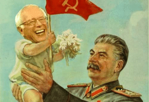 Bernie Sanders, Joseph Stalin, and Bernie: Find someone who looks at you like Joseph Stalin looked at a young Bernie Sanders! ♥♥