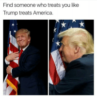 America, Guns, and Kik: Find someone who treats you like  Trump treats America. Double tap! . . Conservative America SupportOurTroops American Gun Constitution Politics TrumpTrain President Jobs Capitalism Military MikePence TeaParty Republican Mattis TrumpPence Guns AmericaFirst USA Political DonaldTrump Freedom Liberty Veteran Patriot Prolife Government PresidentTrump Partners @conservative_panda @reasonoveremotion @rightwingroasts @conservative.american @conservative.patriot @too_savage_for_democrats -------------------- Contact me ●Email- RaisedRightAlwaysRight@gmail.com ●KIK- @Raised_Right_ ●Send me letters! Raised Right, 5753 Hwy 85 North, 2486 Crestview, Fl 32536