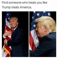 Isn't it great to wake up in the morning realizing your President is a true patriot? patriots americanpatriots politics conservative libertarian patriotic republican usa america americaproud peace nowar wethepeople patriot republican freedom secondamendment MAGA PresidentTrump: Find someone who treats you like  Trump treats America. Isn't it great to wake up in the morning realizing your President is a true patriot? patriots americanpatriots politics conservative libertarian patriotic republican usa america americaproud peace nowar wethepeople patriot republican freedom secondamendment MAGA PresidentTrump
