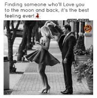 Facts, Goals, and Lit: Finding someone wholl Love you  to the moon and back, it's the best  feeling ever!  QKING SMILES Go Follow👉@king_smiles_👈for lit posts! mr_king_smiles_ badgirl love followback realtalk facts goals lovequotes relationshipgoals photooftheday truestory sexuall inlove powercouples like look quotes relationships picoftheday webstagram quotesofthegram tagafriend followme truelove bestoftheday worth newyorkcity newyork truthbetold
