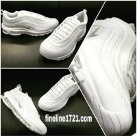 brand new a53d6 6126d Love, Memes, and Nike  fineline1721.com Nike Air Max  97 White