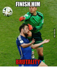 Football player or UFC fighter? http://9gag.com/gag/aEwrp79?ref=fbp  #WorldcupFinal #GermanyvsArgentina: FINISH HIM  TTAT Football player or UFC fighter? http://9gag.com/gag/aEwrp79?ref=fbp  #WorldcupFinal #GermanyvsArgentina