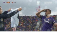 Vitor Hugo, who replaces Davide Astori in defence, is the one who breaks the score for Fiorentina.  Then holds his shirt, and gives him a salute like a soldier to his captain.  Life really is a miracle https://t.co/RLfcY2oWEg: FIO 1-O BEN25:4 Vitor Hugo, who replaces Davide Astori in defence, is the one who breaks the score for Fiorentina.  Then holds his shirt, and gives him a salute like a soldier to his captain.  Life really is a miracle https://t.co/RLfcY2oWEg