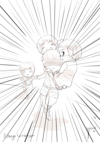 Target, Tumblr, and Blog: fiotarya:  Oh poor Ludwig, he really has a lot to do… Hope you like it ^3^