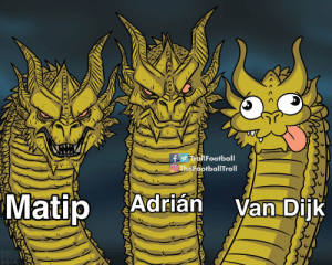 Liverpool's defence 😜 https://t.co/BrEBR35njW: firallFootball  O TheFootballTroll  Matip  Adrián  Van Dijk  MIKE  ARSON  2019 Liverpool's defence 😜 https://t.co/BrEBR35njW