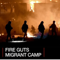 11 APR: Prosecutors in northern France say they have opened an investigation into the fire that destroyed a camp housing 1,500 migrants in Grande-Synthe near the northern port of Dunkirk. Flames took hold after several people sustained knife wounds in a fight between Afghans and Kurds. Find out more: bbc.in-grandesynthe France Migrants Fire BBCShorts BBCNews @BBCNews: FIRE GUTS  MIGRANT CAMP 11 APR: Prosecutors in northern France say they have opened an investigation into the fire that destroyed a camp housing 1,500 migrants in Grande-Synthe near the northern port of Dunkirk. Flames took hold after several people sustained knife wounds in a fight between Afghans and Kurds. Find out more: bbc.in-grandesynthe France Migrants Fire BBCShorts BBCNews @BBCNews