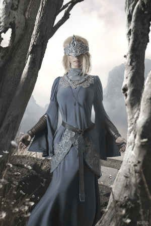 Fire Keeper cosplay by Claire Sea.: Fire Keeper cosplay by Claire Sea.