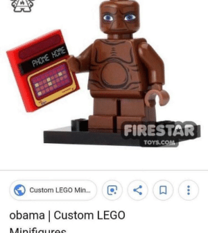 New lego figure: FIRESTAR  TOYS.COM  Custom LEGO Min.  obama | Custom LEGO New lego figure