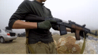 Slow Motion, Covers, and Motion: Firing an AK in slow motion