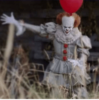 First #behindthescenes photo of Bill Skarsgård as Pennywise from Stephen King's It remake!: First #behindthescenes photo of Bill Skarsgård as Pennywise from Stephen King's It remake!