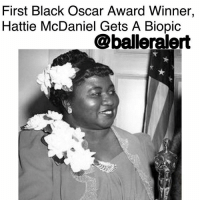 "First Black Oscar Award Winner Hattie McDaniel Gets A Biopic – blogged By @lanaladonna ⠀⠀⠀⠀⠀⠀⠀ ⠀⠀⠀⠀⠀⠀⠀ According to reports, a biopic for African American and Hollywood pioneer, HattieMcDaniel is now in the works. ⠀⠀⠀⠀⠀⠀⠀ ⠀⠀⠀⠀⠀⠀⠀ For those of us who've slept on black history- McDaniel was the first African American (man or woman) to receive an Oscar. Her role as ""Mammy"" in the film ""Gone With The Wind"" earned her the Oscar for ""Best Supporting Actress"" in 1940. ⠀⠀⠀⠀⠀⠀⠀ ⠀⠀⠀⠀⠀⠀⠀ Despite the film's success and eight Oscar Awards, McDaniel, along with the rest of her black castmates weren't allowed at the premiere of the film in Georgia. The color of her skin also caused for McDaniel to not be allowed to sit with the rest of the nominated cast at the Oscar Awards, but allowed her a seat in the back of the venue. ⠀⠀⠀⠀⠀⠀⠀ ⠀⠀⠀⠀⠀⠀⠀ According to Variety, producers of the film, AaronMagnani and AlysiaAllen got their hands on the rights to Jill Watts' published biography, ""Hattie McDaniel: Black Ambition, White Hollywood"" to help them with the film. ⠀⠀⠀⠀⠀⠀⠀ ⠀⠀⠀⠀⠀⠀⠀ Though people in the black community criticized her for playing roles that they felt fed into racial stereotypes for African Americans, McDaniel served as a pioneer and example for aspiring African American actors and actresses for generations to come. ⠀⠀⠀⠀⠀⠀⠀ ⠀⠀⠀⠀⠀⠀⠀ Considering the fact that the first black man to receive a golden globe for best actor in a TV series happened just a week ago, this biopic is a big deal, and long overdue. ⠀⠀⠀⠀⠀⠀⠀ ⠀⠀⠀⠀⠀⠀⠀ Continue to rest in peace Ms. McDaniel and congratulations.: First Black Oscar Award Winner,  Hattie McDaniel Gets A Biopic  @balleralert First Black Oscar Award Winner Hattie McDaniel Gets A Biopic – blogged By @lanaladonna ⠀⠀⠀⠀⠀⠀⠀ ⠀⠀⠀⠀⠀⠀⠀ According to reports, a biopic for African American and Hollywood pioneer, HattieMcDaniel is now in the works. ⠀⠀⠀⠀⠀⠀⠀ ⠀⠀⠀⠀⠀⠀⠀ For those of us who've slept on black history- McDaniel was the first African American (man or woman) to receive an Oscar. Her role as ""Mammy"" in the film ""Gone With The Wind"" earned her the Oscar for ""Best Supporting Actress"" in 1940. ⠀⠀⠀⠀⠀⠀⠀ ⠀⠀⠀⠀⠀⠀⠀ Despite the film's success and eight Oscar Awards, McDaniel, along with the rest of her black castmates weren't allowed at the premiere of the film in Georgia. The color of her skin also caused for McDaniel to not be allowed to sit with the rest of the nominated cast at the Oscar Awards, but allowed her a seat in the back of the venue. ⠀⠀⠀⠀⠀⠀⠀ ⠀⠀⠀⠀⠀⠀⠀ According to Variety, producers of the film, AaronMagnani and AlysiaAllen got their hands on the rights to Jill Watts' published biography, ""Hattie McDaniel: Black Ambition, White Hollywood"" to help them with the film. ⠀⠀⠀⠀⠀⠀⠀ ⠀⠀⠀⠀⠀⠀⠀ Though people in the black community criticized her for playing roles that they felt fed into racial stereotypes for African Americans, McDaniel served as a pioneer and example for aspiring African American actors and actresses for generations to come. ⠀⠀⠀⠀⠀⠀⠀ ⠀⠀⠀⠀⠀⠀⠀ Considering the fact that the first black man to receive a golden globe for best actor in a TV series happened just a week ago, this biopic is a big deal, and long overdue. ⠀⠀⠀⠀⠀⠀⠀ ⠀⠀⠀⠀⠀⠀⠀ Continue to rest in peace Ms. McDaniel and congratulations."