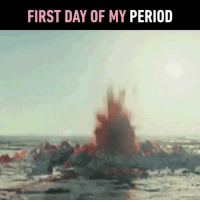 Memes, Period, and 🤖: FIRST DAY OF MY PERIOD it feels like passing bloody slugs from your body. 🅾️ Follow @9gaggirly - 9gaggirly crait starwars
