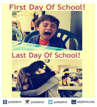 Twitter: BLB247 Snapchat : BELIKEBRO.COM belikebro sarcasm meme Follow @be.like.bro: First Day Of School!  Last Day Of School!  @DESIFUN  @DESIFUN  @DESIFUN  DESIFUN COM Twitter: BLB247 Snapchat : BELIKEBRO.COM belikebro sarcasm meme Follow @be.like.bro