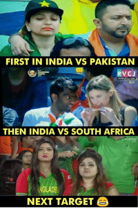 india vs pakistan: FIRST IN INDIA VS PAKISTAN  RVCJ  www.rv  THEN INDIA VS SOUTH AFRICA  hotstar  LIVE  GLAD  NEXT TARGET