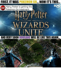 Be Like, Harry Potter, and Memes: FIRST IT WAS POKEMON GO... NOW IT'S THIS..  cnet  Harry Potter is getting the  Pokemon Go treatment  WIZARDS  UNITE  AND VERY SOON HOUGANG WILL BE LIKE THIS AGAIN I solemnly swear they'll be up to no good!