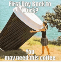 First Jav Back to  Work  You  may need this coffee Snow days are over... 😩