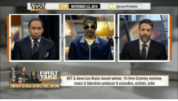 SnoopDoog visits FirstTake and speaks on marijuana use in professional sports! Thoughts? 🤔 @ESPNFirstTake @SnoopDogg WSHH: FIRST  LIVE NOVEMBER 23 2016  @espnfirsttake  TAKE  FIRST  TAKE  BET& American Music Award winner, 18-time Grammy nominee,  music & television producer &executive, activist, actor  SNOOP DOGG JOINS THE SHO SnoopDoog visits FirstTake and speaks on marijuana use in professional sports! Thoughts? 🤔 @ESPNFirstTake @SnoopDogg WSHH