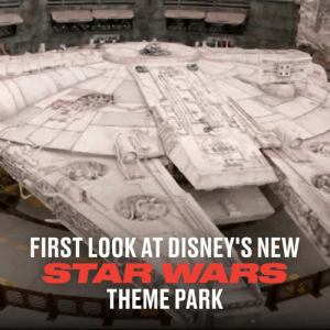 Galaxy's Edge, the new Star Wars theme park has finally opened its gates. Here's a first look look inside the must-see attraction 🌌🚀: FIRST LOOK AT DISNEY'S NEW  STARWAARS  THEME PARK Galaxy's Edge, the new Star Wars theme park has finally opened its gates. Here's a first look look inside the must-see attraction 🌌🚀