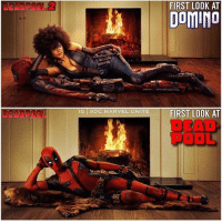 Q : What will Cable's poster be like? • • • • Follow @deadpoolfacts for your daily Deadpool dose. 👇👇👇👇 @vancityreynolds 🙌 wadewilson marvelnation driveby q dc fox movies deadpool marvel deadpool2 hahaha lmfao heh: FIRST LOOK AT  DomINo  G ODc MARVEL UNITE FIRST LOOK AT  DEAD  POOL Q : What will Cable's poster be like? • • • • Follow @deadpoolfacts for your daily Deadpool dose. 👇👇👇👇 @vancityreynolds 🙌 wadewilson marvelnation driveby q dc fox movies deadpool marvel deadpool2 hahaha lmfao heh