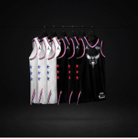 First look at the 2019 NBA All-Star uniforms for Charlotte.: First look at the 2019 NBA All-Star uniforms for Charlotte.