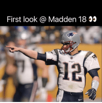 Madden 18 looks so realistic that _____: First look @ Madden 18 55  PATRIOTS  Madden 18 looks so realistic that _____
