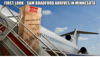 Fra-gile-le...didn't know Sam Bradford was Italian: FIRST LOOK-SAMBRADFORDARRIVES IN MINNESOTA  FRAGILE  THIS END UP t Fra-gile-le...didn't know Sam Bradford was Italian