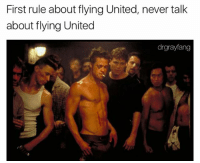 The Asian guy is totally kicked out of United Club | follow @drgrayfang for more: First rule about flying United, never talk  about flying United  drgrayfang The Asian guy is totally kicked out of United Club | follow @drgrayfang for more