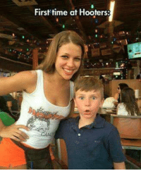 Hooters, Time, and Mexican Word of the Day: First time at Hooters:
