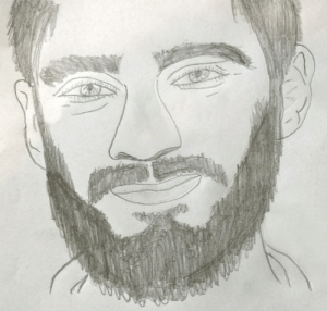First time drawing, and I decided to draw this lad: First time drawing, and I decided to draw this lad