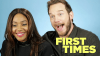 Chris Pratt, Girls, and Lego: FIRST  TIMES Chris Pratt (Guardians of the Galaxy, Avengers: Endgame, Parks and Rec) and Tiffany Haddish (Girls Trip, Night School) swing by to talk about The Lego Movie 2: The Second Part, their firsts, and the decade old secrets that bind them together in ways that one of them never even knew. (Seriously.)