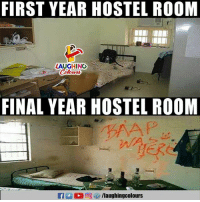 Indianpeoplefacebook, Hostel, and First: FIRST YEAR HOSTEL ROOM  LAUGHING  FINAL YEAR HOSTEL ROOM  f/laughingcolours