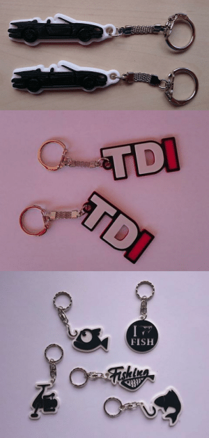 Lol, Tumblr, and Blog: FISH lol-coaster:  Personalized 3D Printed Key Chain, Bag Tag, Name TagWould you like to treat yourself or your loved ones to keychain a Bag Tag or a Name Tag with a unique title/figure on it? You can order it with a name, a nickname, a text of your own or even a figure.