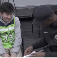 """Memes, Respect, and Wshh: fitb  MINNESOTA """" JimmyButler tore his meniscus last night, but still made time to meet Matthew Long from Make A Wish today."""" 🙏💯 @timberwolves @houseofhighlights Respect WSHH"""