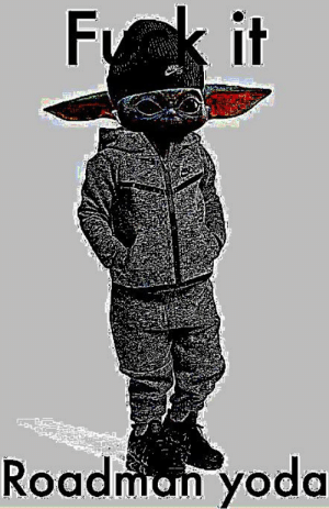 Give me your bbm you must, my only hope you are: Fk it  Roadman yoda Give me your bbm you must, my only hope you are