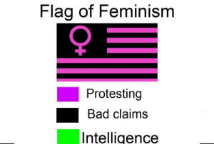 Bad, Dank, and Feminism: Flag of Feminism  9  Protesting  Bad claims  Intelligence Y E E T by LogaNation05 MORE MEMES