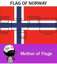 Twitter: BLB247 Snapchat : BELIKEBRO.COM belikebro sarcasm meme Follow @be.like.bro: FLAG OF NORWAY  INDONESIA  NETHERLANDS  ILAN  POLAND  THAILAND  Mother of Flags Twitter: BLB247 Snapchat : BELIKEBRO.COM belikebro sarcasm meme Follow @be.like.bro