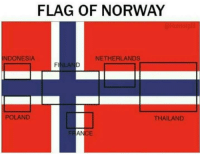 "Tumblr, Blog, and Http: FLAG OF NORWAY  NDONESIA  NETHERLANDS  LA  POLAND  THAILAND  FR  AN  CE <p><a href=""http://ragecomicsbase.com/post/159395734817/norway-is-the-motherland-of-flags"" class=""tumblr_blog"">rage-comics-base</a>:</p>  <blockquote><p>Norway is the motherland of flags</p></blockquote>"