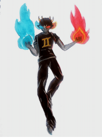 Target, Tumblr, and Panda: flaming-panda-bear:generic floating sollux