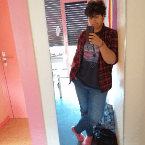 Flanel shirts go well with my cringy teen angst: Flanel shirts go well with my cringy teen angst