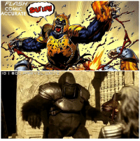 Hype, Memes, and Army: FLASH  COMIC  ACCURATE  IG | @ DEM-RRVEL UNITE)  MINI ARMORED GRODD ! 😱 What did everyone think of last Nights Episode of TheFlash ? The CGI was on point. 👍🏽 Can't wait for Next Weeks Second Part Episode of GorillaCity, Looks like GorillaGrodd and his Gorilla Army to CentralCity from Earth2 with the Help of Gypsy ! Comment Below ! DCTV HYPE ! TheFlashSeason3 ⚡️ FLASH 🐒